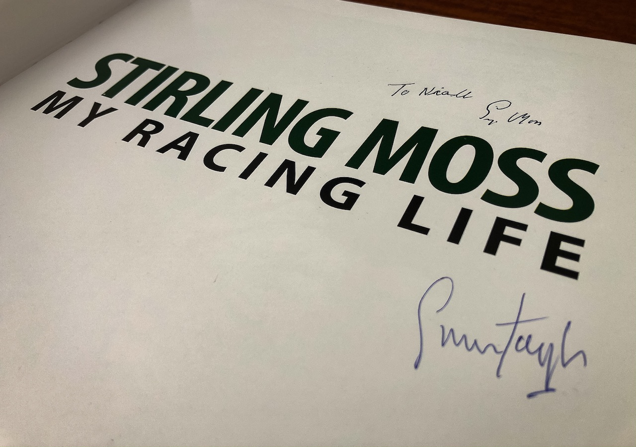 Remembering the great Sir Stirling Moss