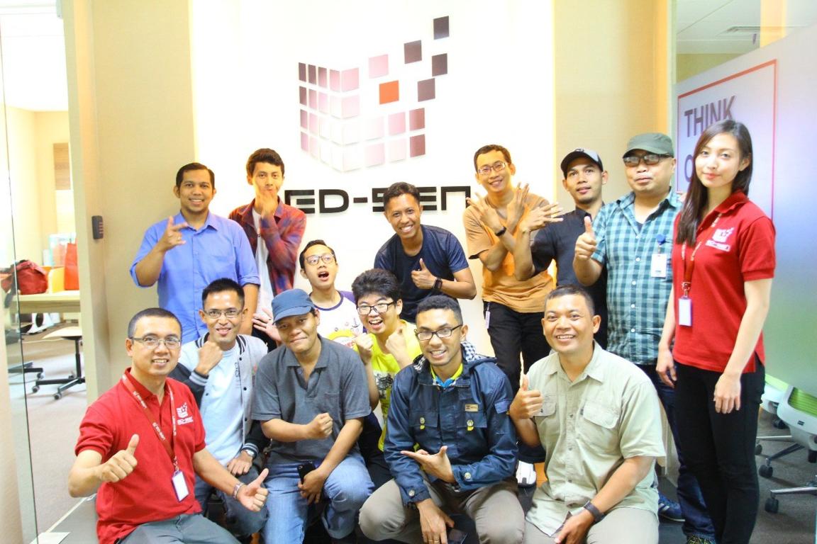 Bersama Dengan Para Blogger Mengenal Oracle Netsuite. Foto: Tauhid