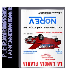 Publicité 1969 LANCIA Flavia