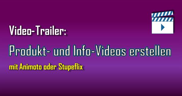 Mit Videos kann man viel erreichen, z. B. seine Produkte und Leistungen vorstellen oder aber Informationen und kostenlose Hilfe bieten.