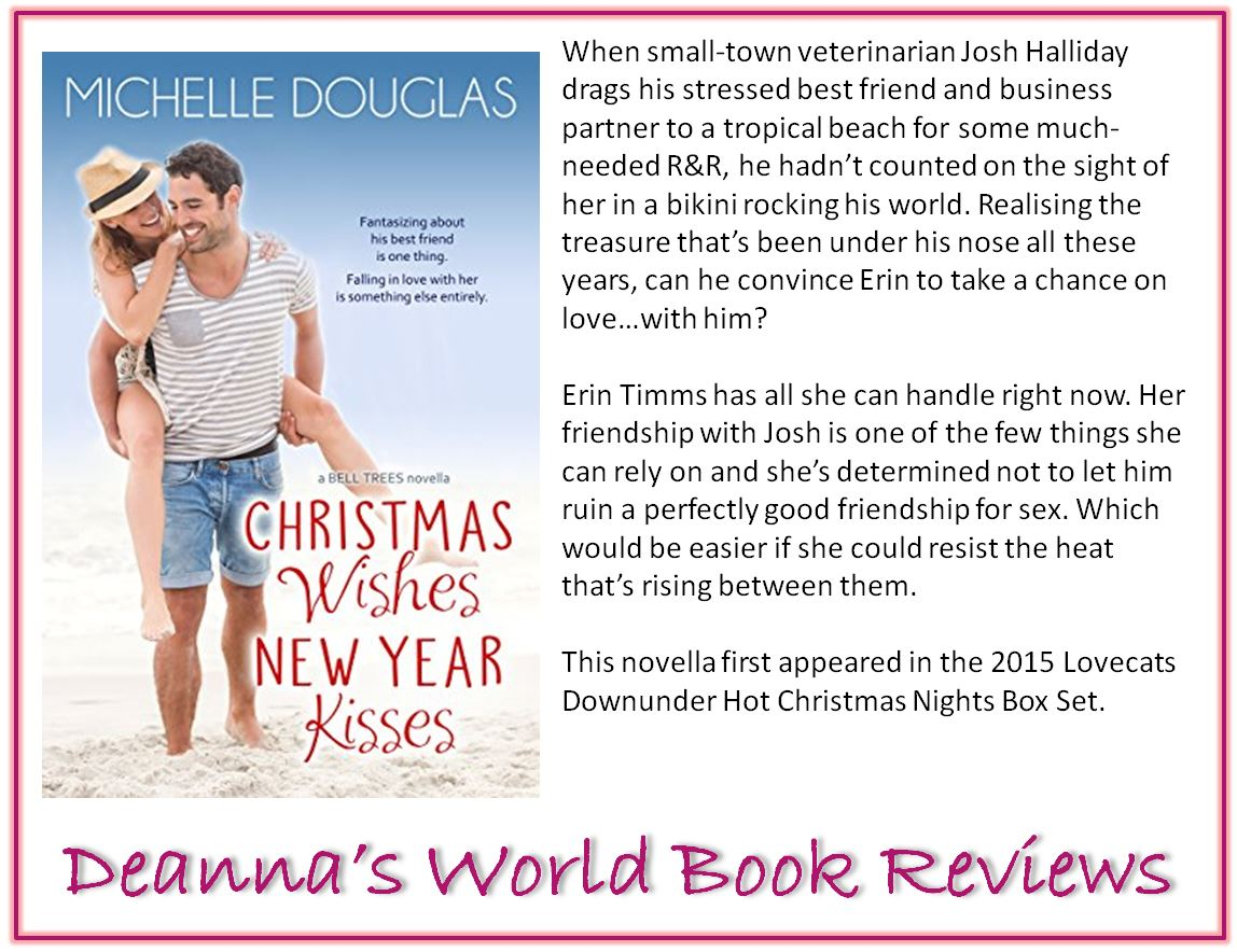 Christmas Wishes New Year Kisses by Michelle Douglas blurb