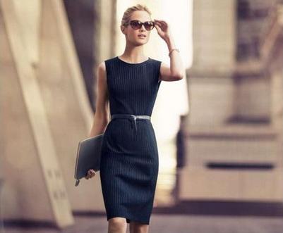 Бизнеследи в черном платье