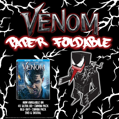 Eminem Venom Song Download: Don't Miss Marvel's VENOM + DIY Foldable Venom!