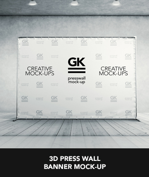 Logo Mockup on Covered Box with Fabric