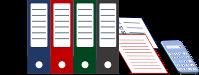 Grafik Verwaltung: Diese Grafik-Datei könnt ihr als Word-, GIMP- und PNG-Datei kostenlos herunterladen.