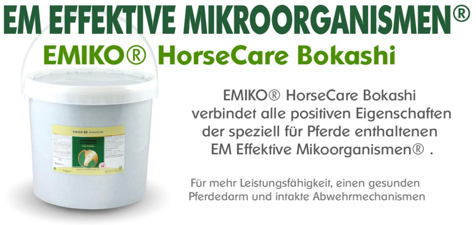 EMIKO® HorseCare BOKASHI Ergänzungsfuttermittel fest