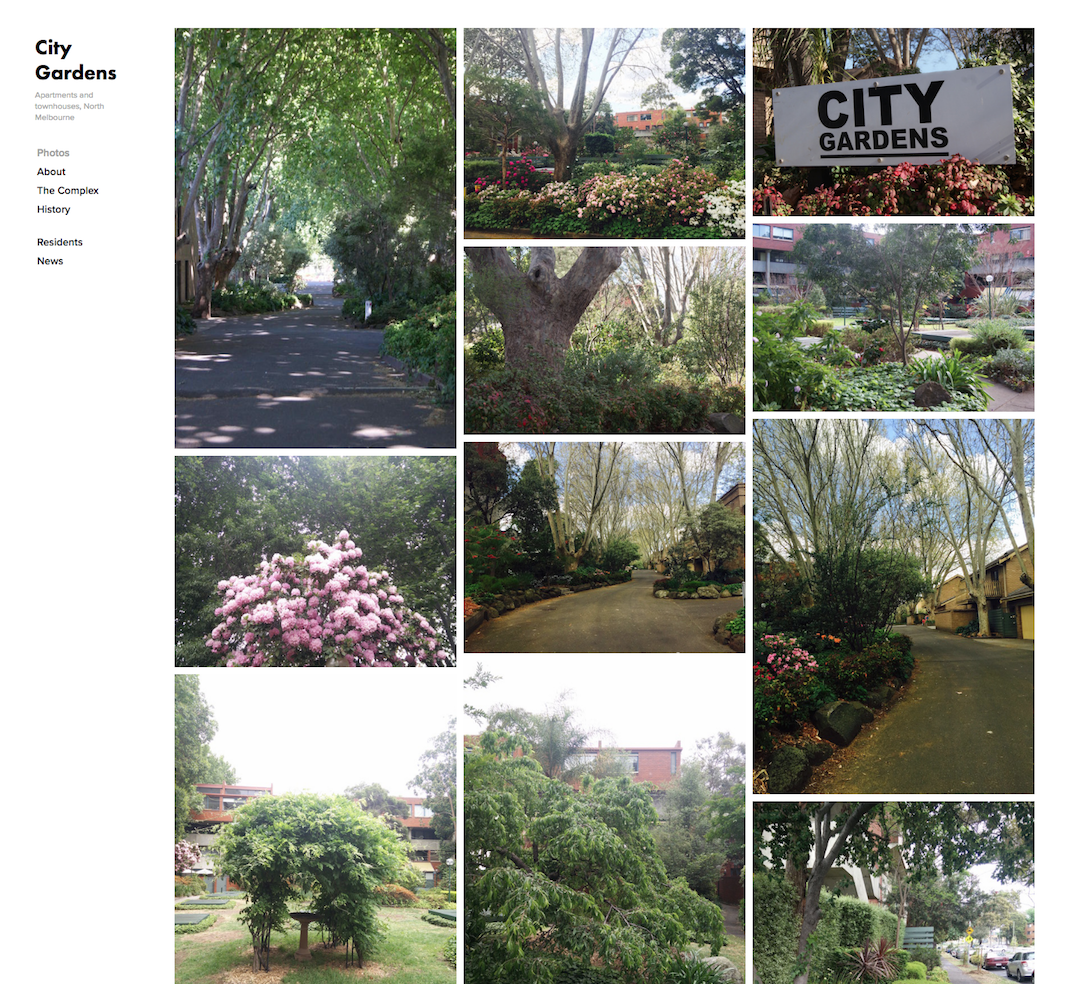 City Gardens Home Page