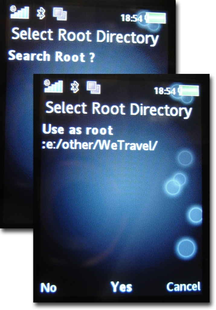 Search root