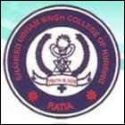 Shaheed Udham Singh College of Nursing, Fatehabad