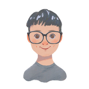 Everyone gets a staff illustration at Buildkite! See more of our lovely illustrations on https://buildkite.com/about.