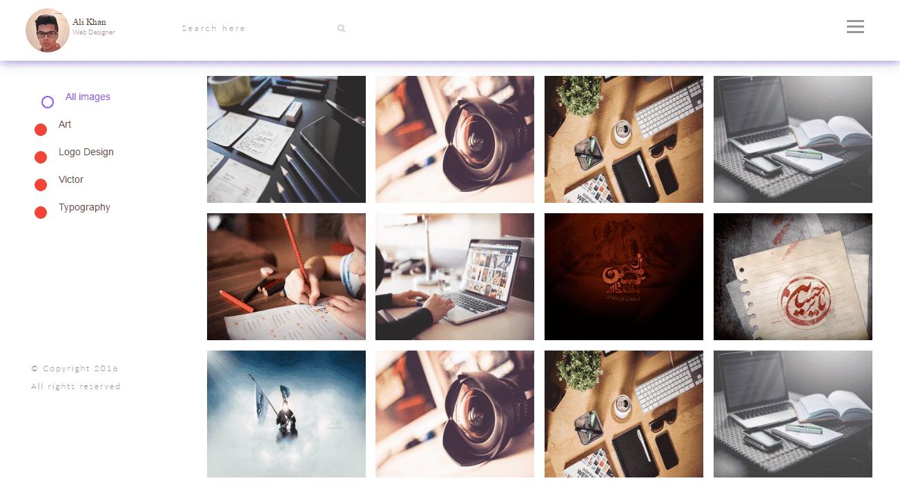 Farhad – Free Creative Personal Portfolio Template