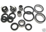 Combo-Pack! Chassis Bearings and Seals Kit Yamaha Warrior 350 1987-2004