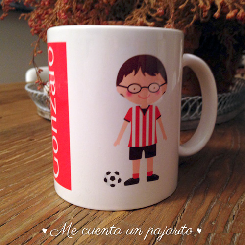 Aupa Athletic, final de la copa del Rey 2014-2015, taza, futbolista