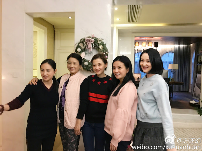 2016.12.24_Triệu Vy-Họp lớp 20 năm-Học viện Điện Ảnh Bắc Kinh