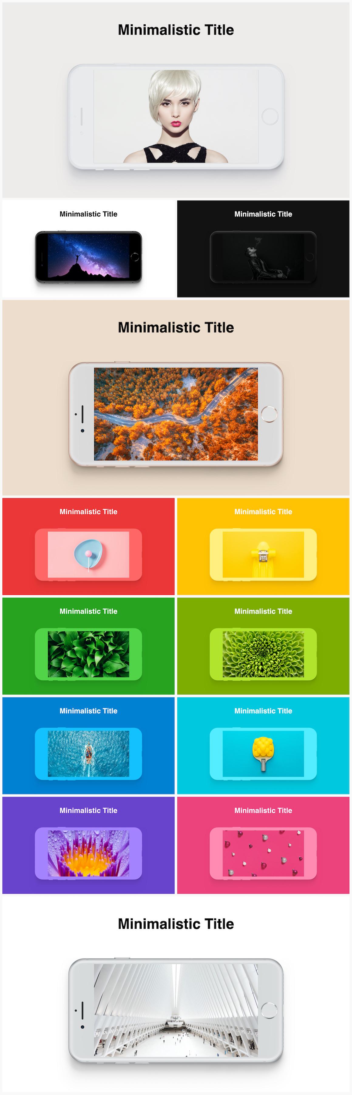 Huge Infographics Bundle! Lifetime Updates! PowerPoint, Photoshop, Illustrator. - 77