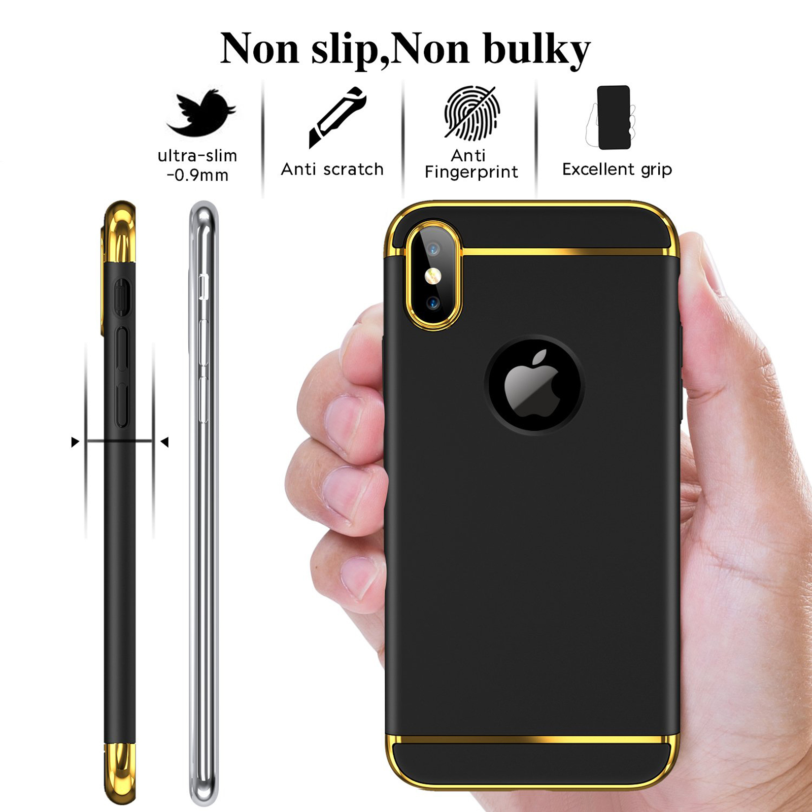 thumbnail 40 - Luxury Matte Case Tempered Glass Cover For Apple iPhone X XS XR Max 10 8 7 6s 6