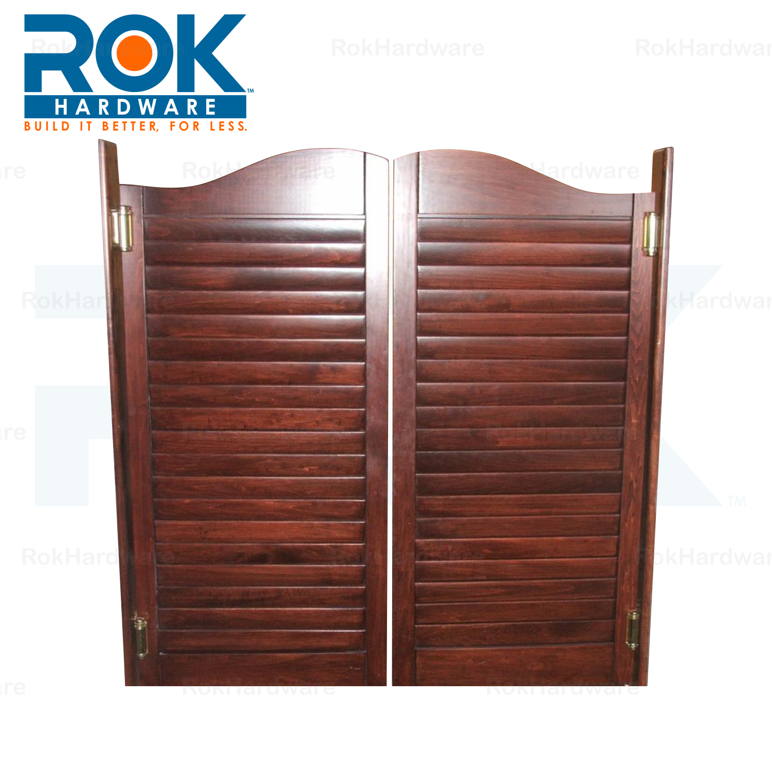 Rok 2 Pack 3 Quot Black Double Action Steel Spring Cafe Saloon