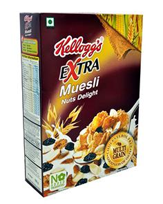 Kellogg's Muesli Extra Nut Delight 550 g