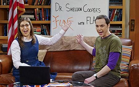 Sheldon Cooper presenta Diversión con Banderas