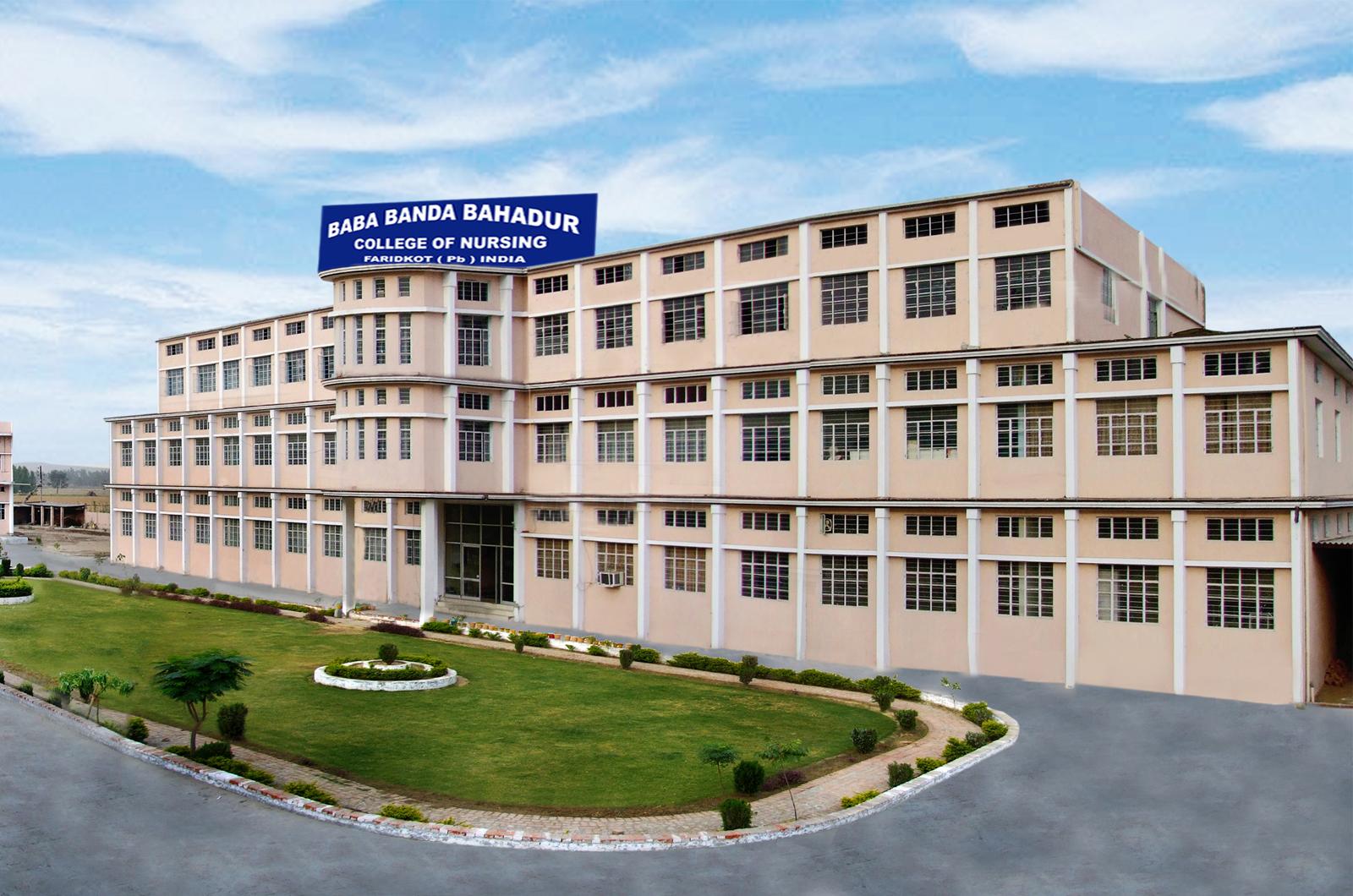 Banda Bahadur College of Nursing, Faridkot