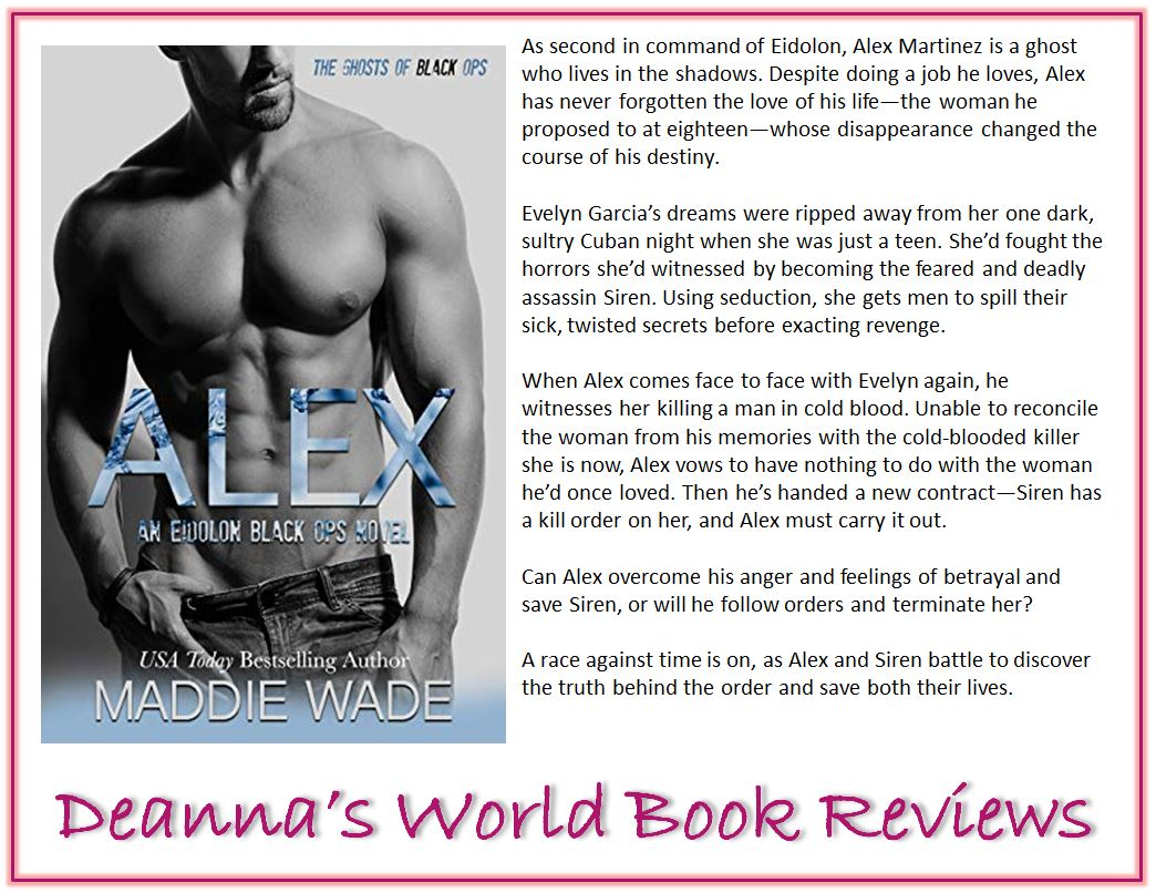 Alex by Maddie Wade blurb