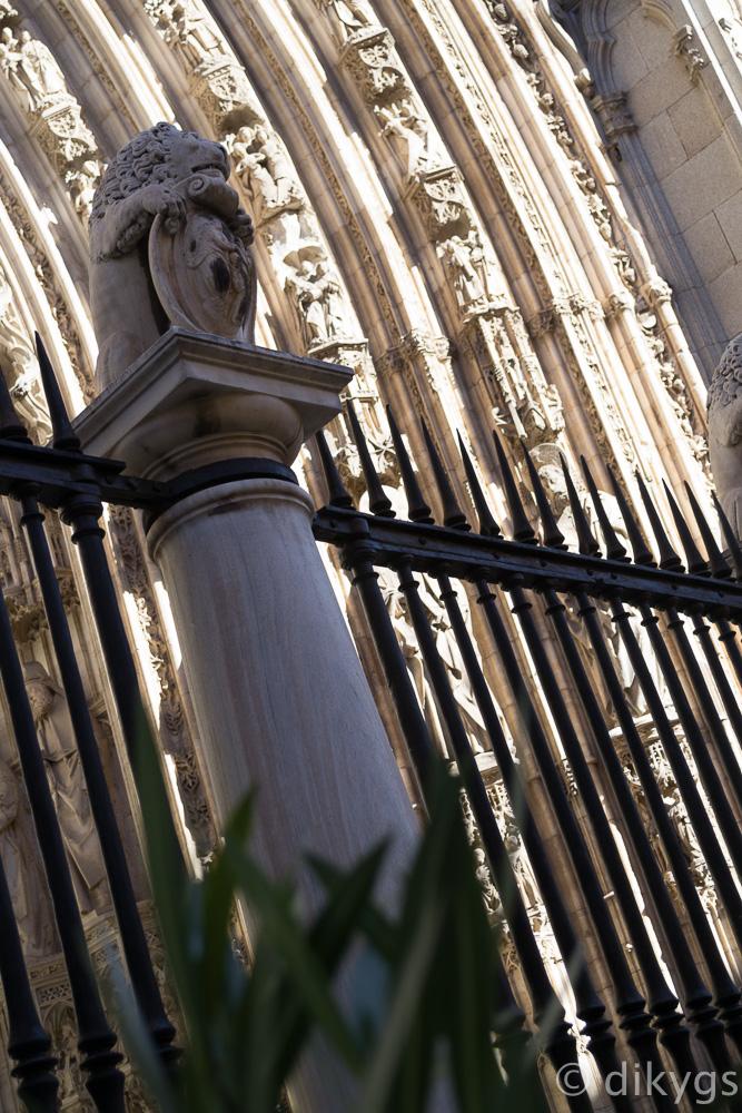 Detalle Pórtico Catedral de Toledo