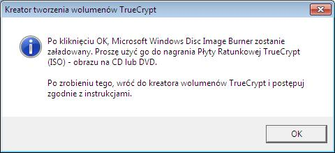 płyta CD truecrypt