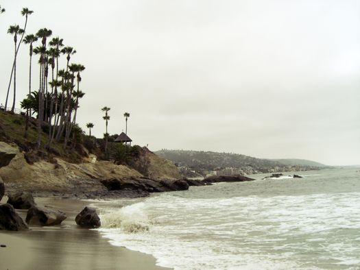 Laguna beach Ocean Sea waves