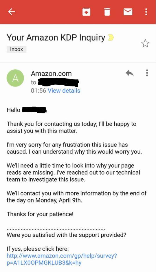 KU Amazon response 1