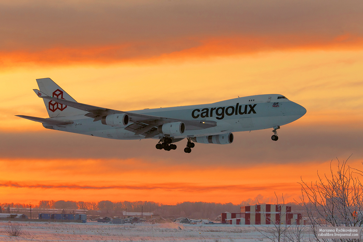 Cargolux Cathay pacific