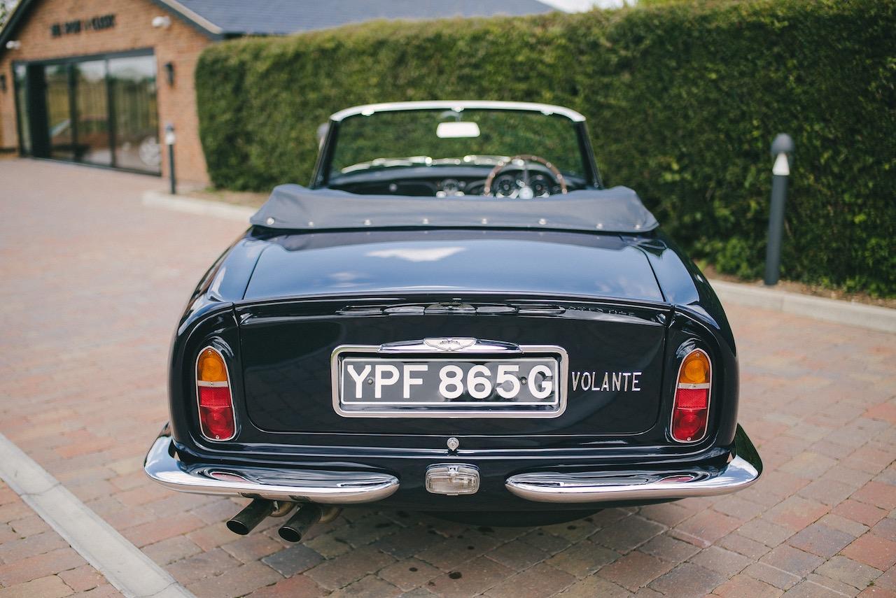 Rare 1968 Aston Martin DB6 Volante comes to market