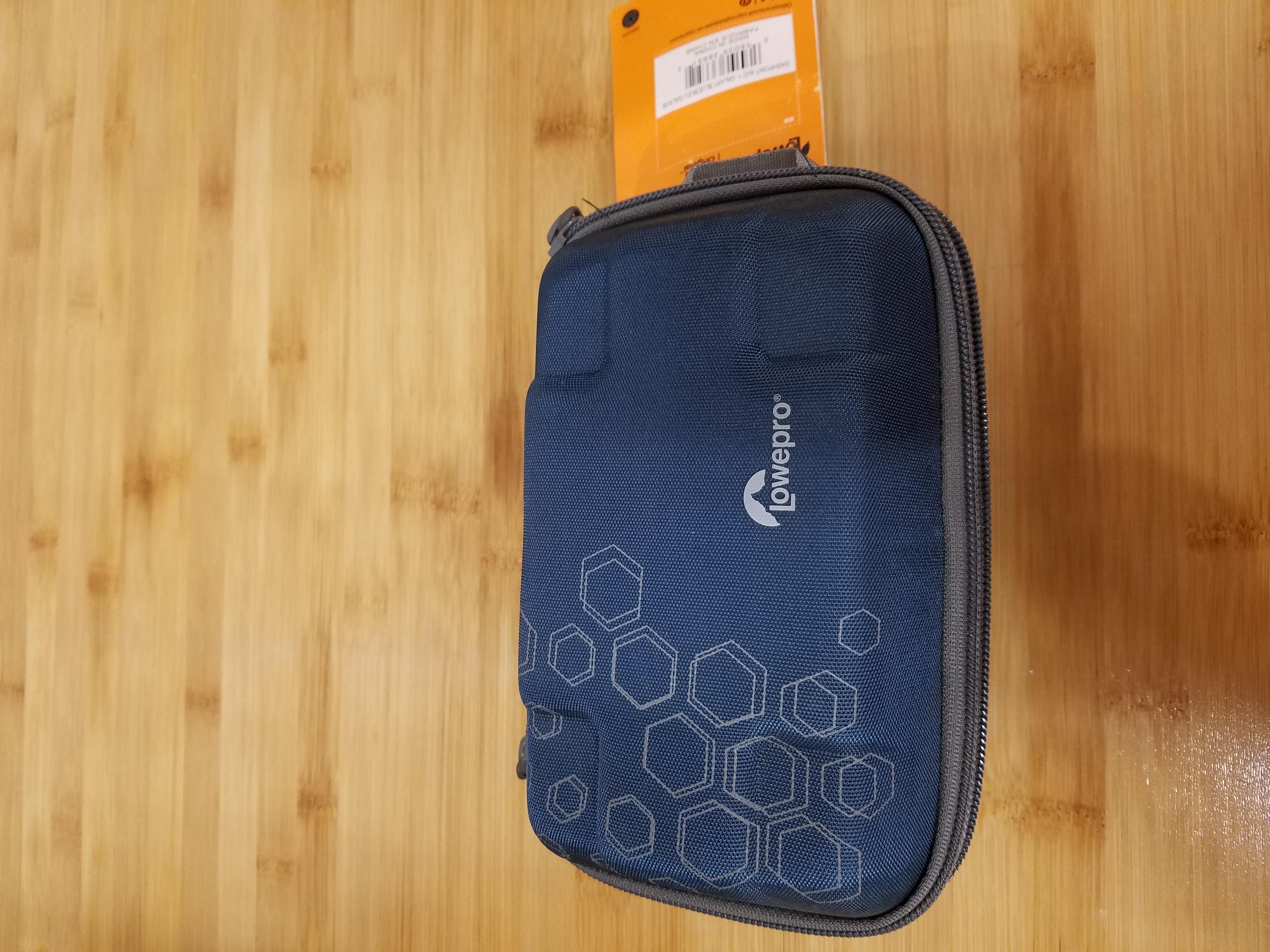 Lowepro Dashpoint AVC 1 Hard Shell Case BLUE GoPro Action Vi