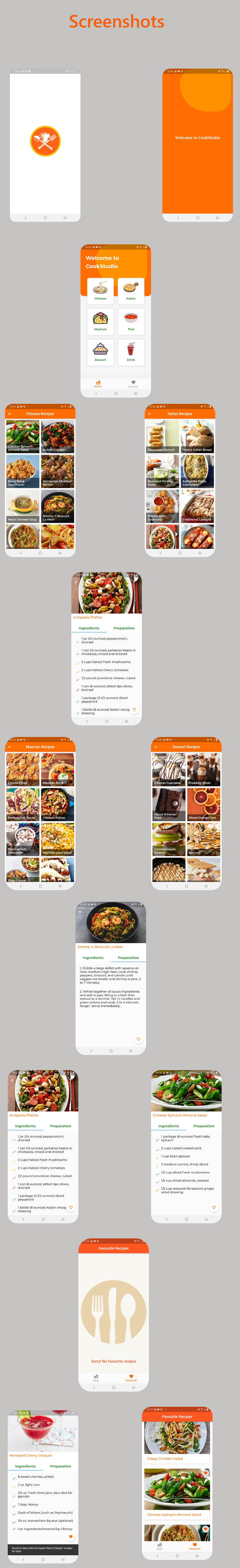 Cookstudio-Recipe App By Flutter With AdMOb - 1