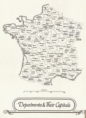 Departments of France