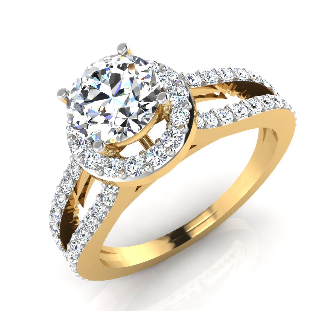 The Wedded Bliss Solitaire Ring