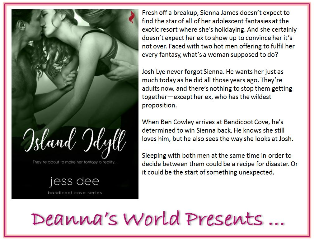 Island Idyll by Jess Dee blurb