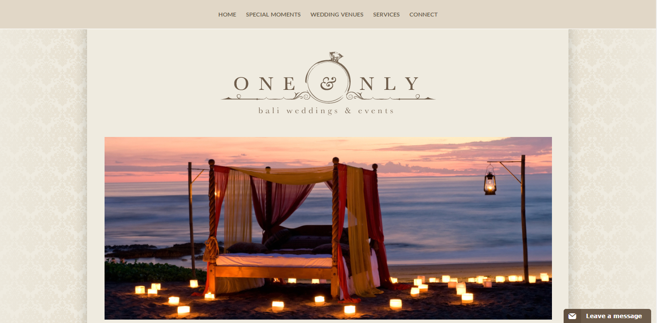 One & Only Bali Weddings