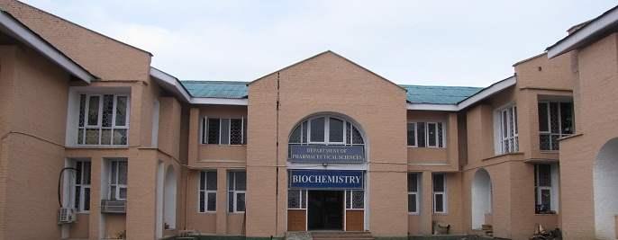 DEPARTMENT OF PHARMACEUTICAL SCIENCES Kashmir University