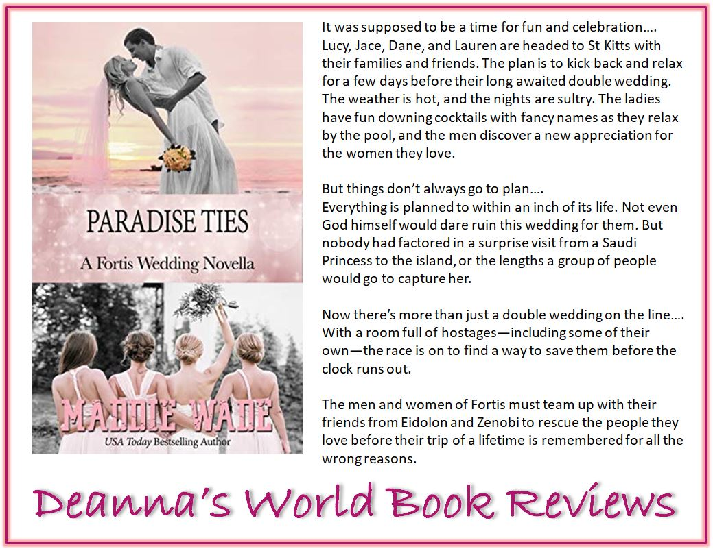 Paradise Ties by Maddie Wade blurb
