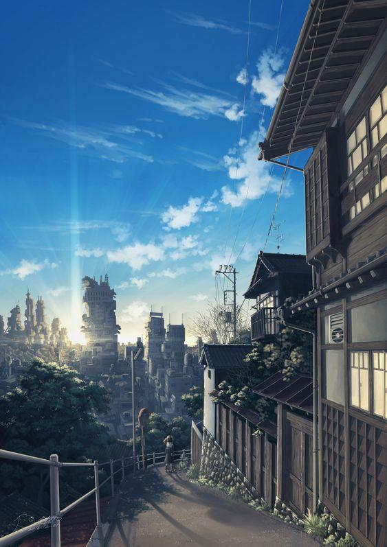 Anime Nature Background 11