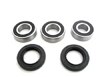Rear Wheel Bearings and Seals Kit Kawasaki KX80 1998-2000