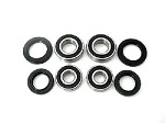Both Front Wheel Bearings and Seals Kit Polaris Scrambler 90 2001-2003