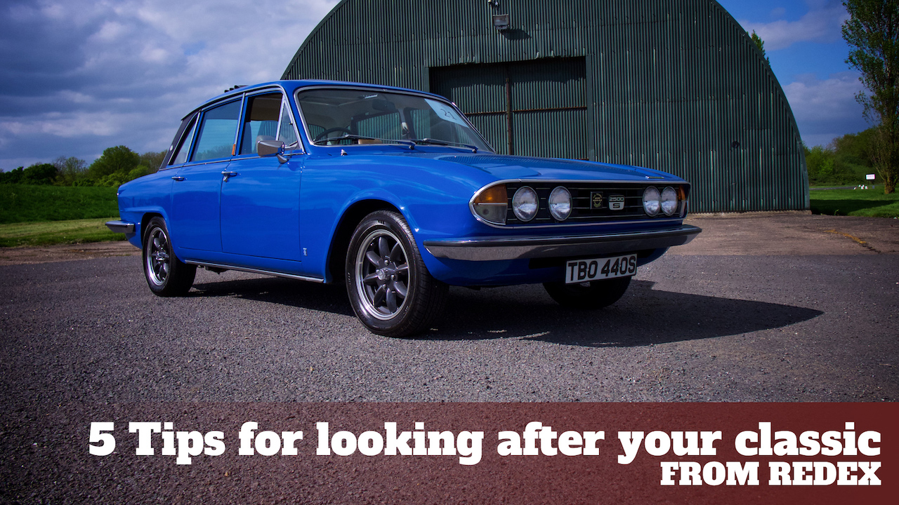 Looking after your classic car with Redex