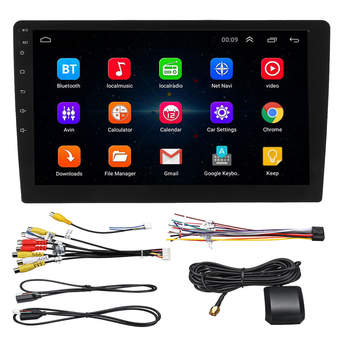 Gps Devices 10 1 Inch Android 8 1 System Car Gps