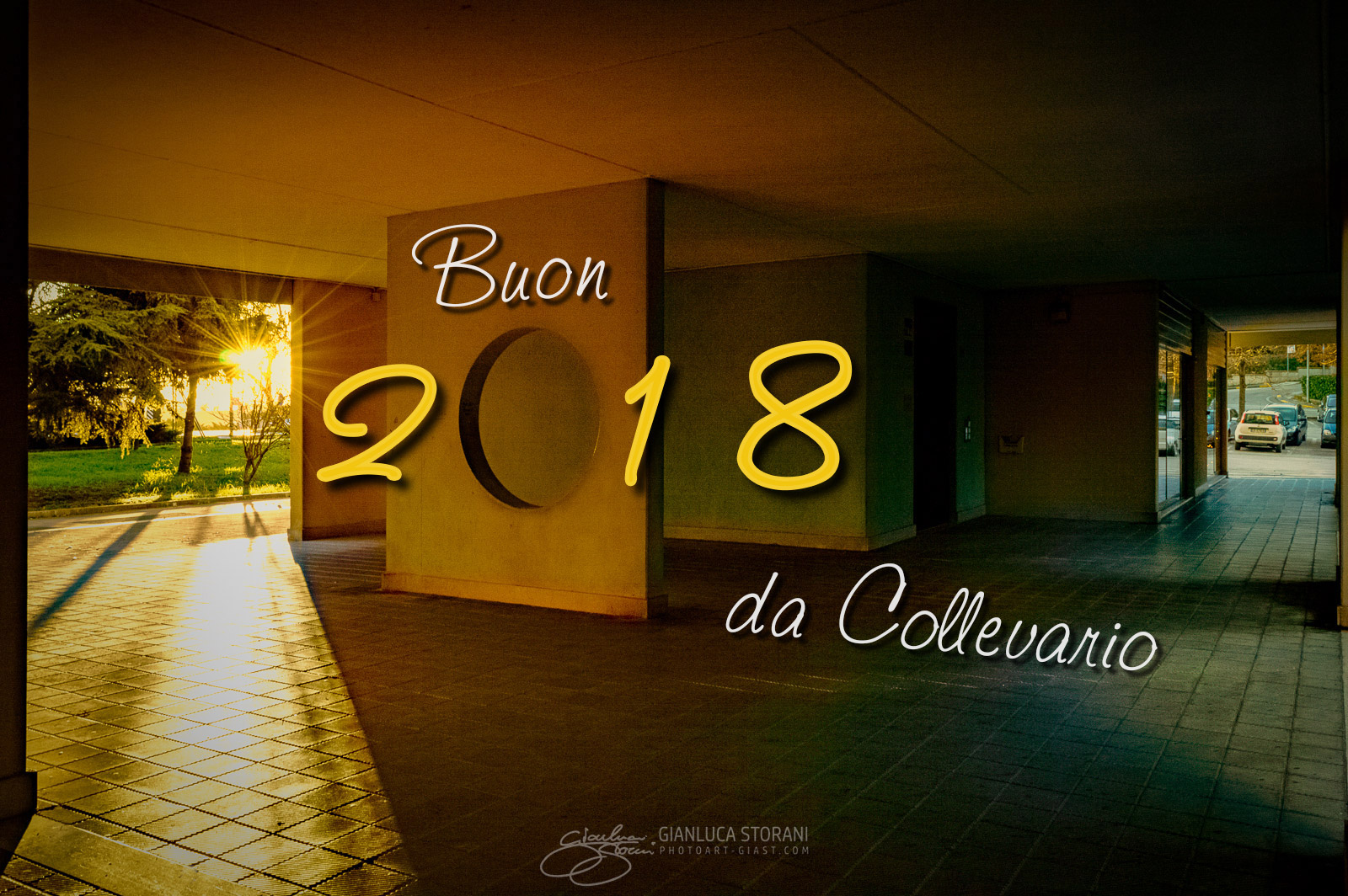 Buon 2018 dal Quartiere Collevario - Gianluca Storani Photo Art (ID: 4-7148)
