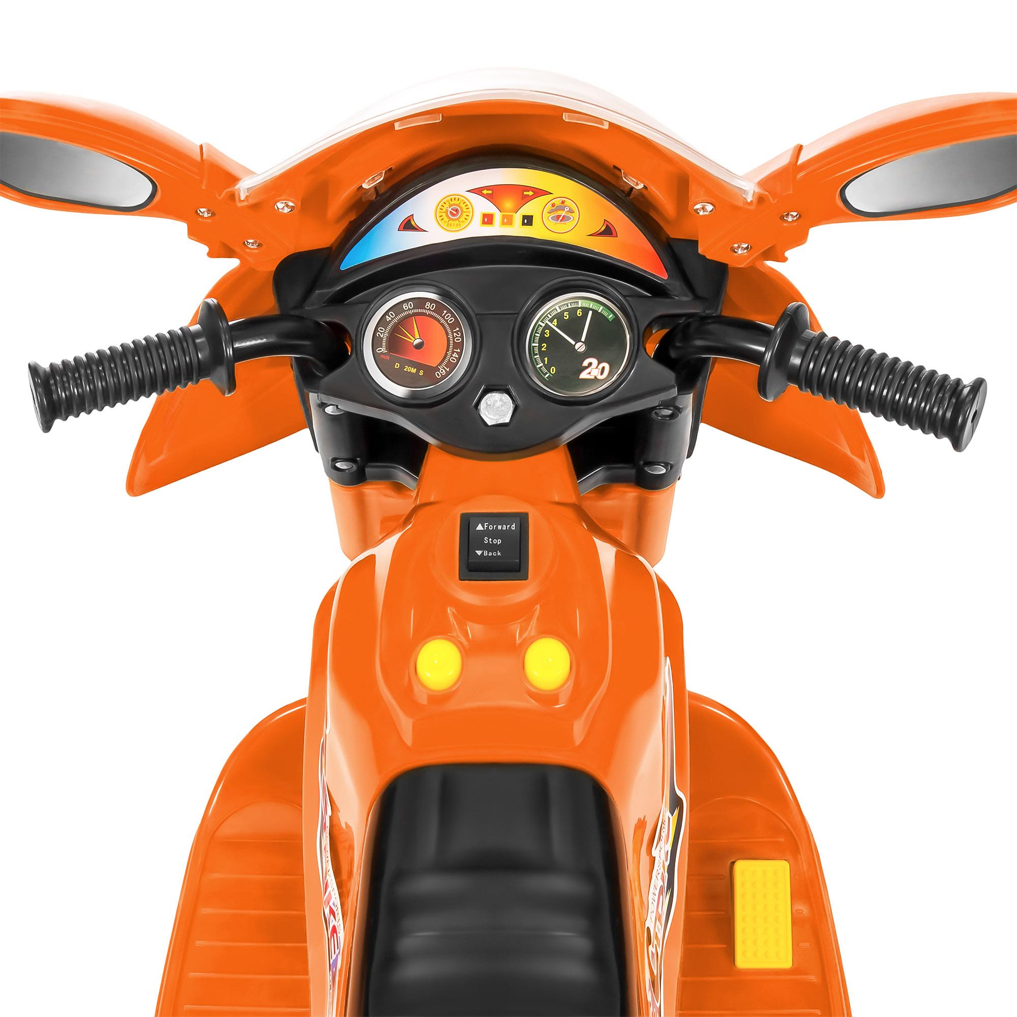 BCP-6V-Kids-3-Wheel-Motorcycle-Ride-On-Toy-w-LED-Lights-Music-Storage thumbnail 23