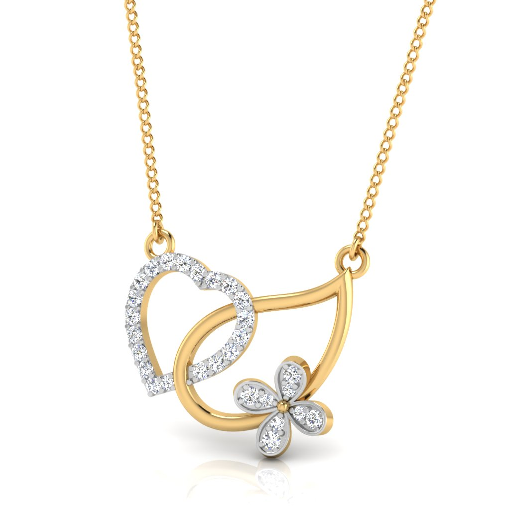 The Butter Heart Diamond Pendant