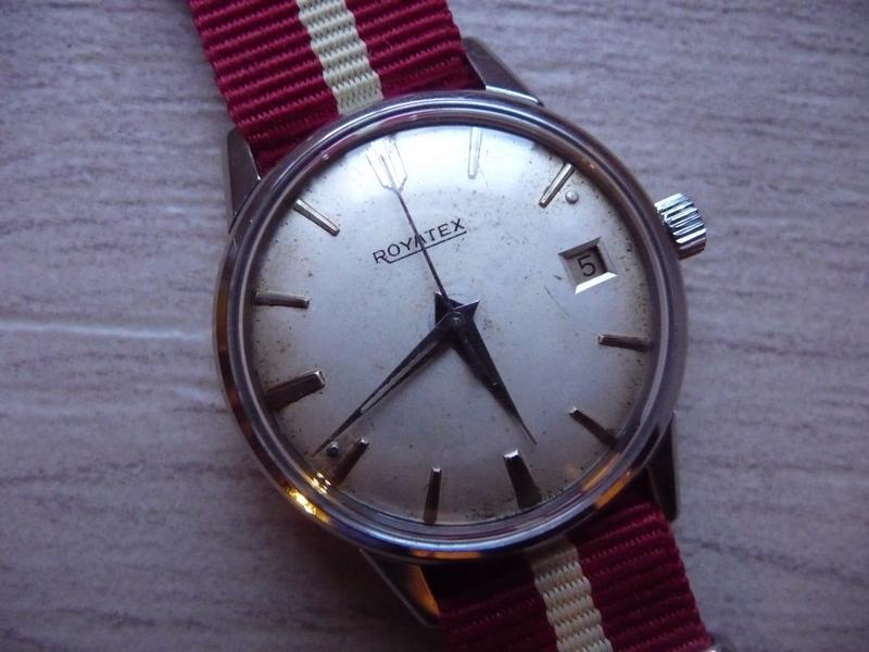 Montre Royatex vintage Royatex