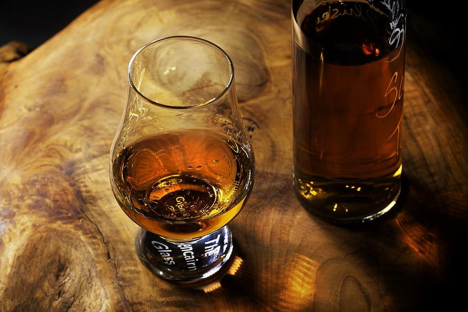 Whisky in a glencairn glass