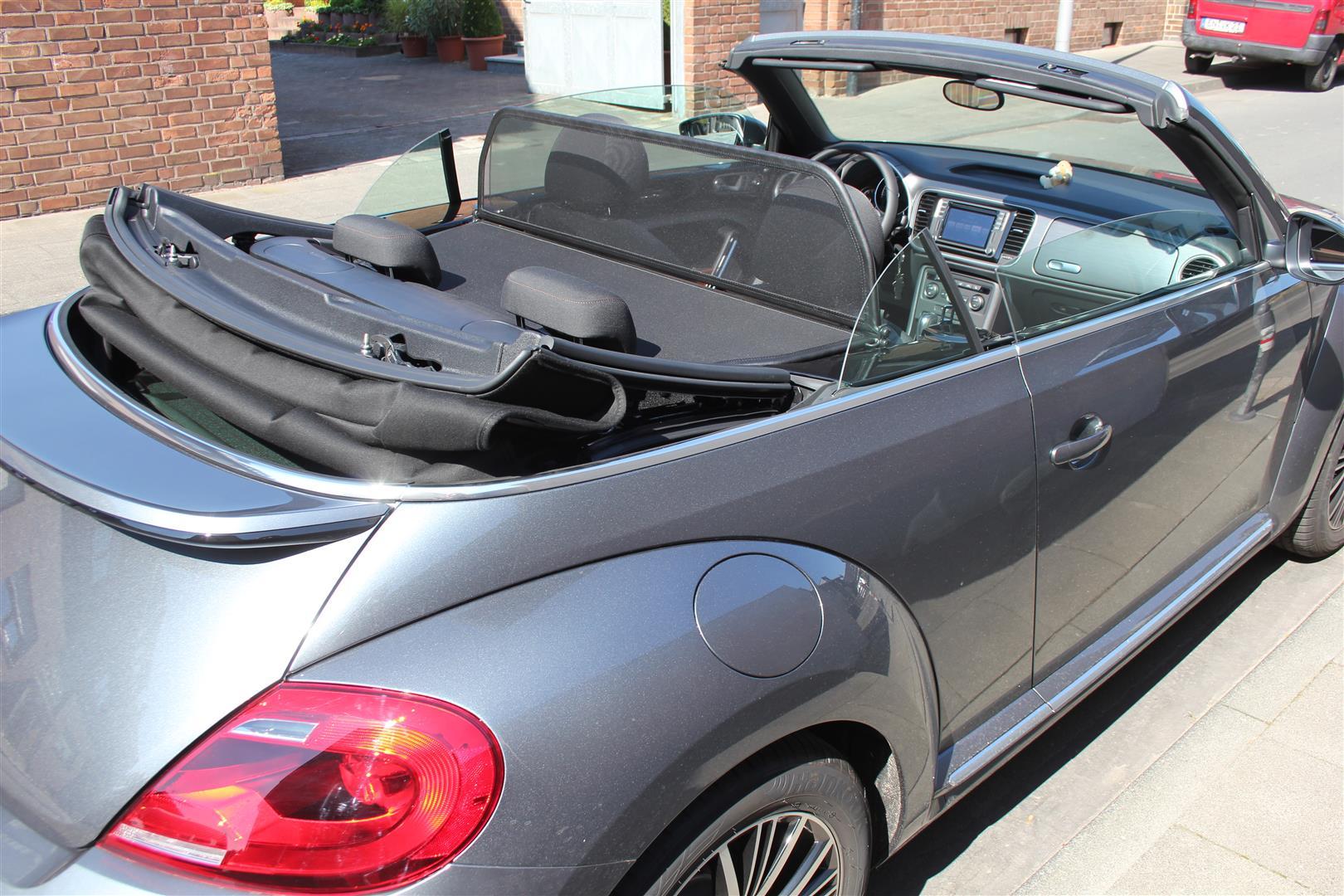 windschott vw beetle cabriolet 5c7 ab baujahr 2015 schwarz. Black Bedroom Furniture Sets. Home Design Ideas